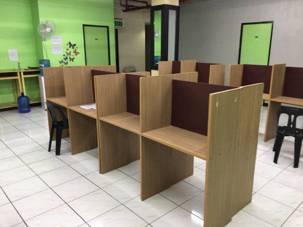 サウスピークオリジナル校の開放自習室