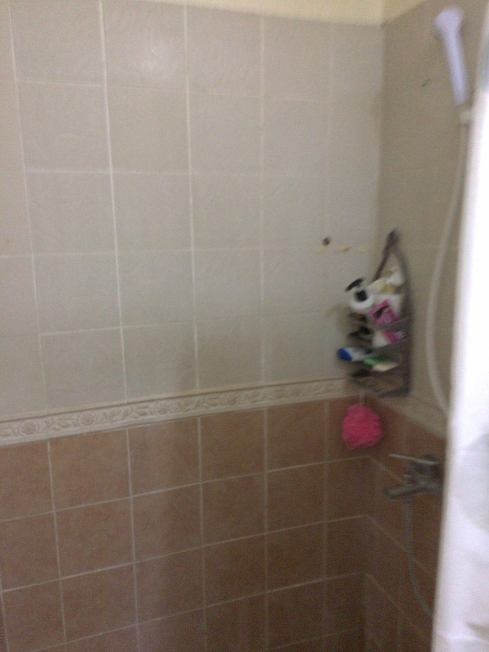 サウスピークのシャワー
