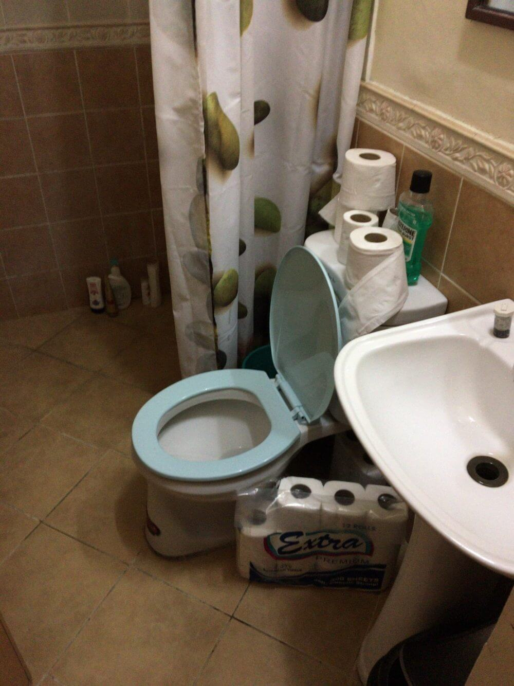 サウスピークのトイレ