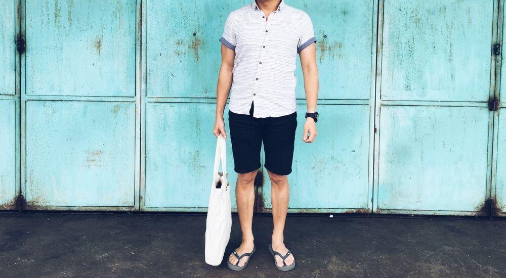 フィリピン留学中の男性の服装