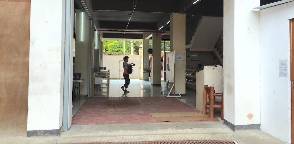 フィリピン留学の学校に行く